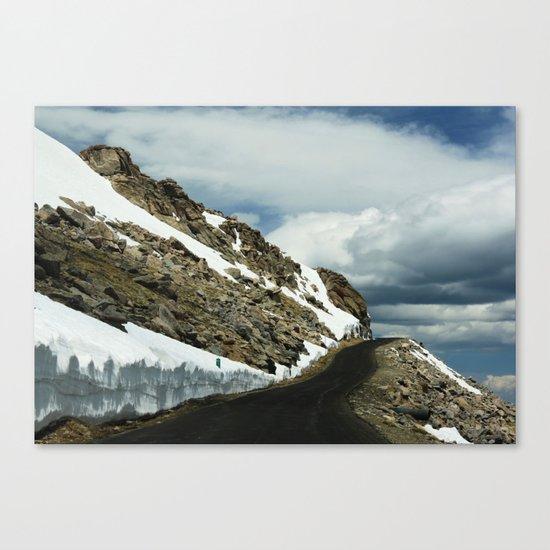 Mile 11 Canvas Print