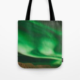 Northern Lights in Norway Tote Bag