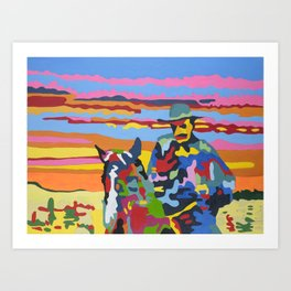 OSSO BUCCO - The Corn Man Art Print