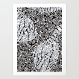 Linework Art Print