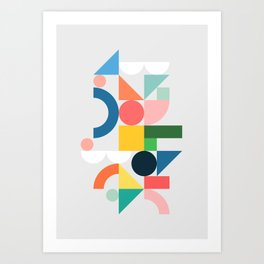 Playpark 02 Art Print