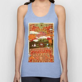 MORNING PSYCHEDELIA Unisex Tank Top