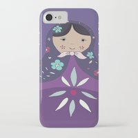 russian iPhone & iPod Cases featuring RUSSIAN DOLLS by Monika Strigel