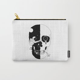 After Life (A Glimpse into a Void or the Moment of a Disappearing Existence) Carry-All Pouch
