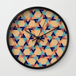 Geometric pattern 1977 Wall Clock