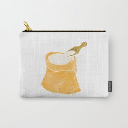 Watercolor Illustration of A bag of rice Carry-All Pouch