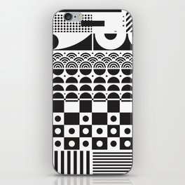 Vector texture - BW. iPhone Skin