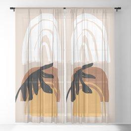 Palm desert Sheer Curtain