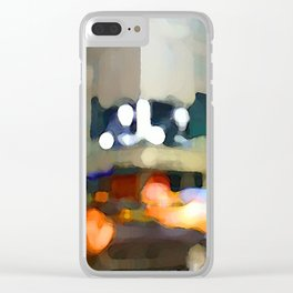 Night Now Clear iPhone Case