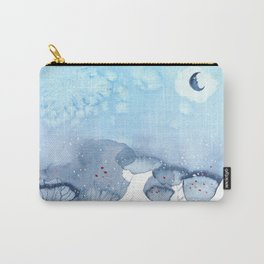 Forests, fairies, birds, flowers and other rendezvous. Carry-All Pouch
