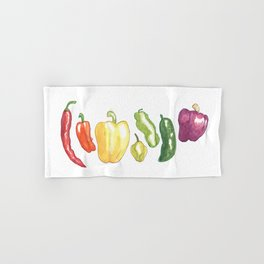 Pepper Rainbow Hand & Bath Towel