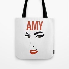 Amy Back to Black Tote Bag
