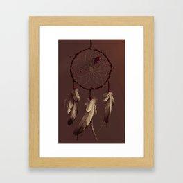 Poisoned dreams Framed Art Print