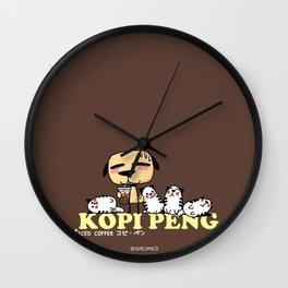 Kopi Peng Wall Clock
