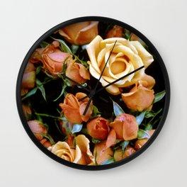 Rosebuds, Darling Rosebuds Wall Clock