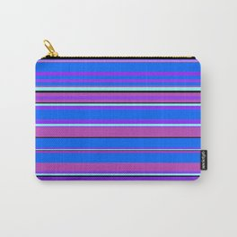 Stripes-010 Carry-All Pouch