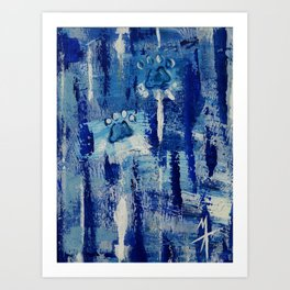 State of Blue #1 Art Print