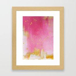 Pinkish Framed Art Print