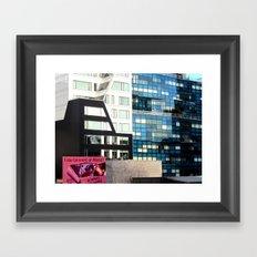 Entertainment or Abuse? Framed Art Print