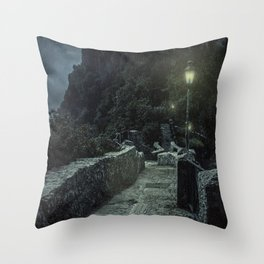 When the night comes Throw Pillow