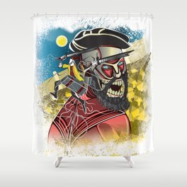 Lapu Lapu vs Ferdinand Magellan Shower Curtain