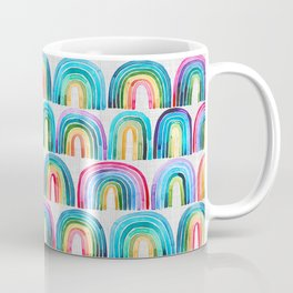 Rainbow Rows Coffee Mug