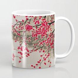 Japan Crane Fishing Coffee Mug