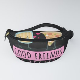 Kawaii Pizza And Beer Saying Funny Fanny Pack