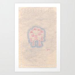 These Guys Art Print