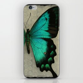 Papillon  iPhone Skin
