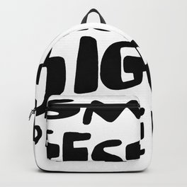 Small Gesture Big Difference Positive Quote Backpack