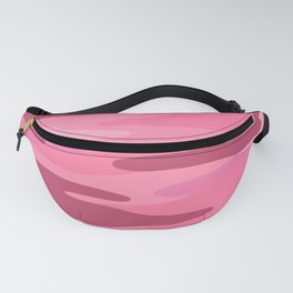 Pink Camo pattern Fanny Pack