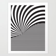 Optical Game 8 Art Print
