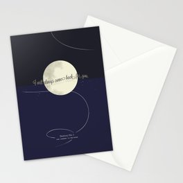 Destiny No. 1 | Our journey to the Moon Stationery Cards