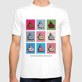 Contemporary art T-shirt