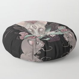 Sphynx - Dark Floor Pillow