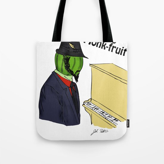 thelonious monk-fruit Tote Bag