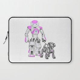 The Dog Walker. (Pink) Laptop Sleeve
