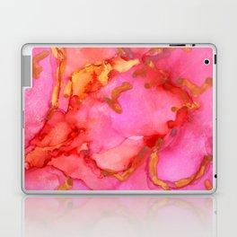 Pink and Gold Laptop & iPad Skin