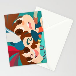 Pine Twins Stationery Cards