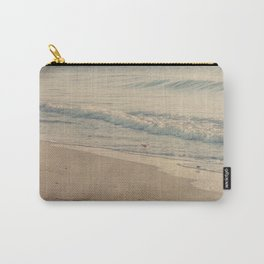 Morning Surf with Sand Pipers Carry-All Pouch