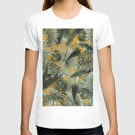 Bird of Paradise Jungle Leaves Dream #3 #tropical #decor #art #society6 T-shirt
