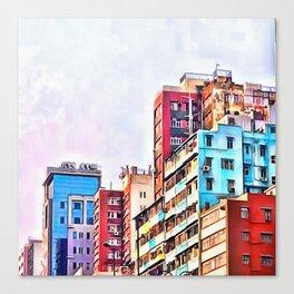 Quarter Three Canvas Print