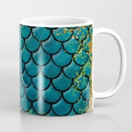 Rainbow Glitter Sparkly Scales Coffee Mug