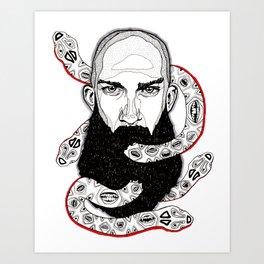 Ra's Umbilical Cord Art Print
