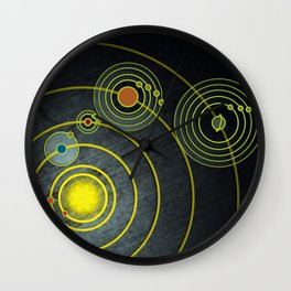 GOLDEN RECORD Wall Clock