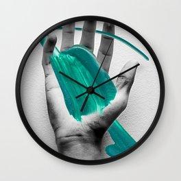 Splat! Wall Clock