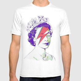 Queen Elizabeth / Aladdin Sane T-shirt