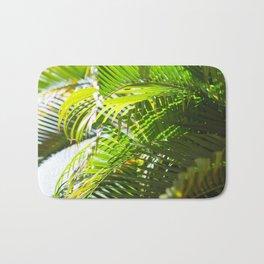 78. Palm Tree Pattern, Cuba Bath Mat