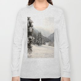 In The Wintertime Long Sleeve T-shirt
